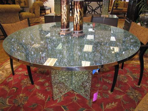 Crackle Glass Top Dining Table Crackle Glass Table Top Search Dining Glass Table Top Crackle Glass