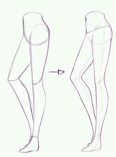 Drawing Legs by 51 Best Drawing Tips The Leg Images On