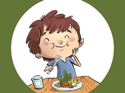 imagenes niños almorzando alfredo y las verduras bosque de fantas 237 as