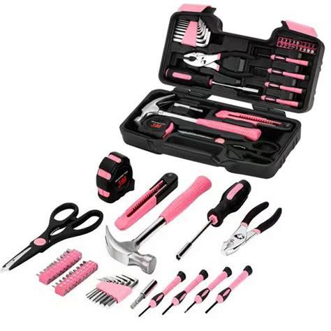 Not So Pink Tool Kit by Pink 40pcs Tool Set Household Tool Car Maintenance