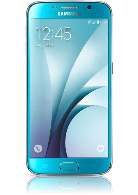 samsung mobile s6 samsung galaxy s6 bleu avis prix avec forfait fiche