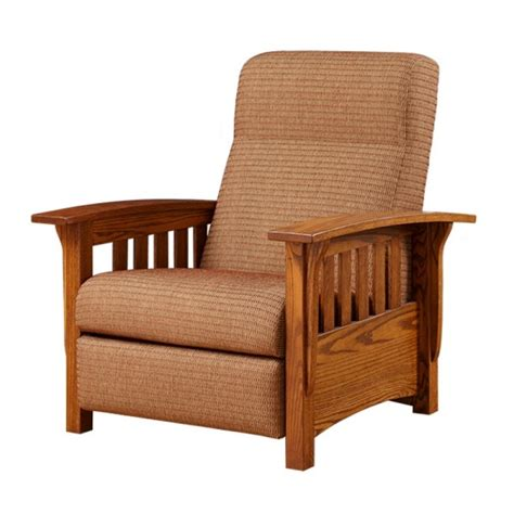 mission recliner chair classic mission recliner amish classic mission recliner