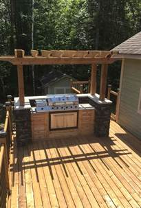 best 25 outdoor barbeque area ideas on