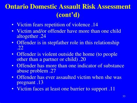domestic violence risk assessment template ppt assessing dangerousness myths and research
