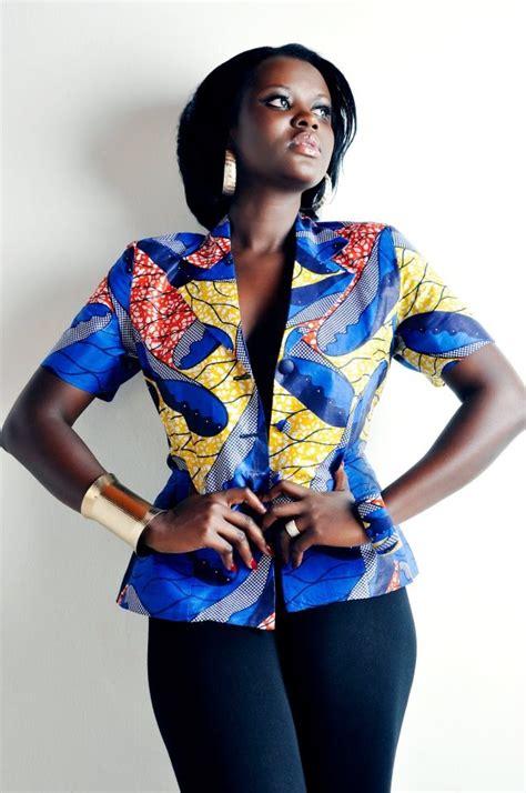 naija female ankara jackets ankara jacket african wardrobe pinterest ankara