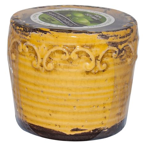 Swan Creek Candle Company Gingerbread by Nectarine Swan Creek Vintage Pot Color Yellow