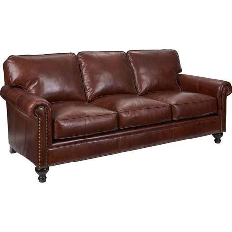 Broyhill Leather by Shop Broyhill Harrison Leather Sofa Free Shipping Today