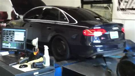 audi s4 dyno with giac software
