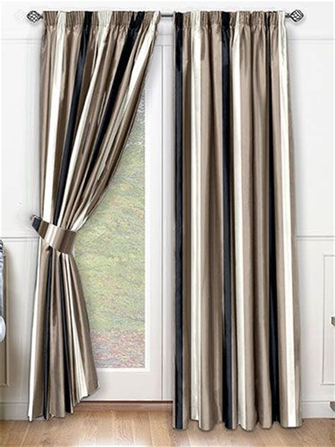 pin striped curtains stripes and curtains on pinterest