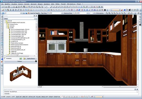 librerie cad 3d software conversione disegno cad da 2d a 3d fotorealistico