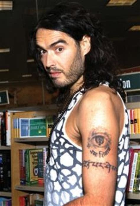 russell brand tattoo removed top tatted and branded images for tattoos