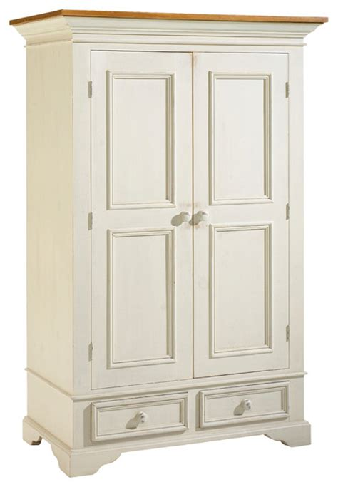 Armoires And Wardrobes by Shop Houzz Camlen Furniture Garde Robe Chlain White