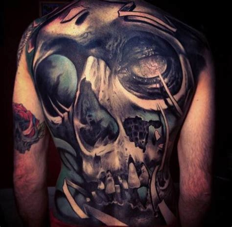 back horror tattoo motive ideas tattoo designs
