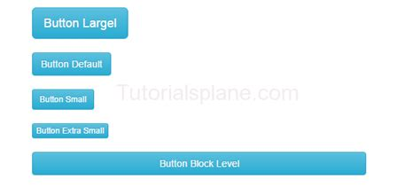 bootstrap tutorial buttons bootstrap buttons exle tutorialsplane