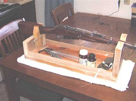 gun cleaning bench cheap rifle cleaning center