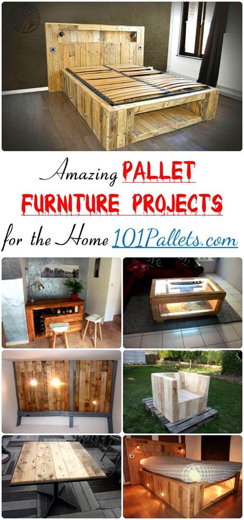 Amazing Pallet Furniture Projects For Home 101 Pallets | amazing pallet furniture projects for home 101 pallets