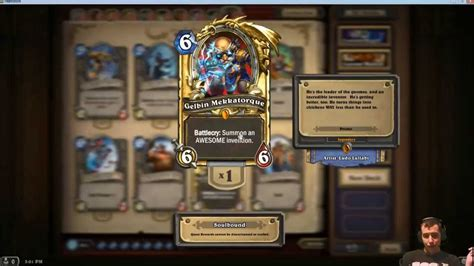 How To Get A Gift Card - how to get a legendary in hearthstone youtube