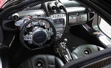 pagani interior car and driver