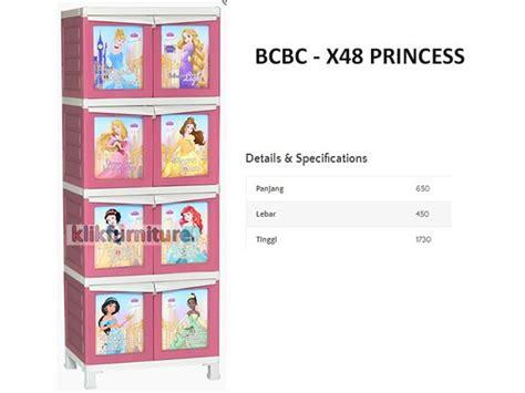 Lemari Plastik Sorong bcbc x48 princess napolly lemari plastik agen termurah