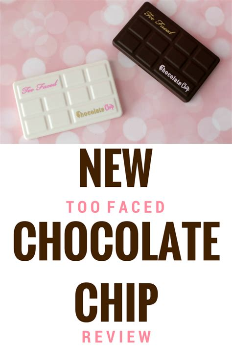 Faced Matte Chocolate Chip Original sees in atlanta new chocolate chip palette reviews white matte