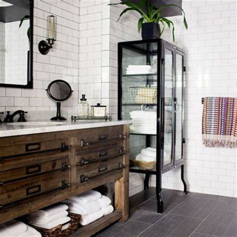 antique bathrooms designs a vintage cabinet is transformed into a bathroom vanity