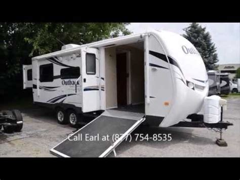 outback toy hauler travel trailer rv sales 2 floorplans 2011 keystone outback 230rs travel trailer toy hauler