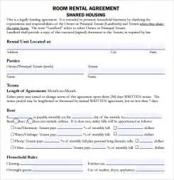 rental house template sle house lease agreement 9 documents in pdf word