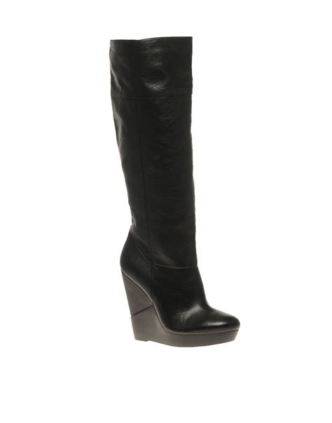 aldo aldo haumesser wedge boot at asos