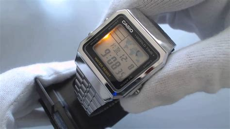 Casio A500wa 1df Stainless Steel World Time 100 New Original s casio world time stainless steel a500wa 1 2016 11 23