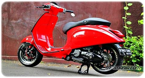 Modifikasi New Vespa by Modifikasi Vespa Racing Look Anti Mainstream Dengan Vespa