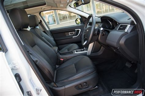 land rover discovery sport interior 2017 2017 land rover discovery sport hse td4 180 review