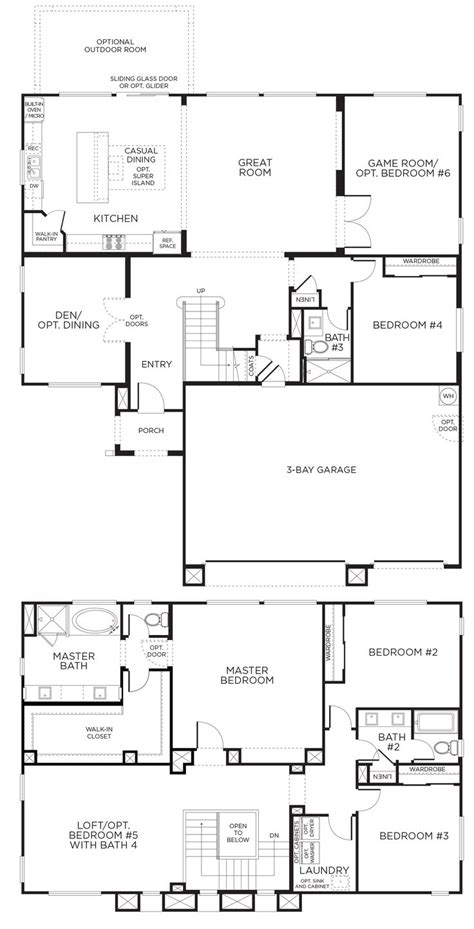 floor plan interest bedroom story floor plan topest loft plans ideas on
