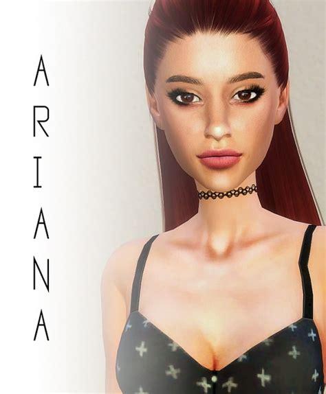 ariana sims 4 caeley sims ariana grande sims 4 downloads
