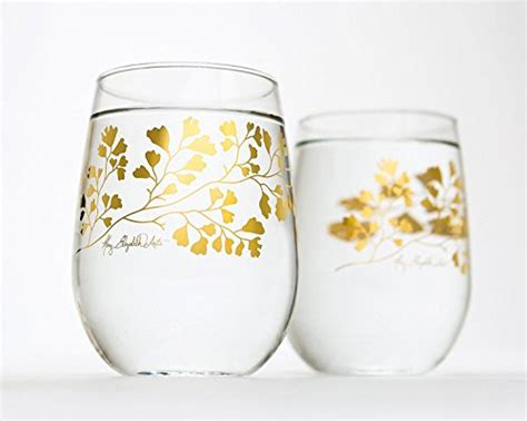 Wedding Gift Glassware by Wedding Favors Wedding Glassware 44 Stemless Wine