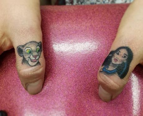 small princess tattoos 21 subtle disney tattoos that will enchant you to