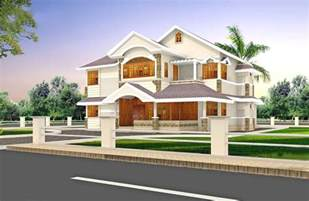 2900 Square Feet Refined Villa Design 3d Home Designer