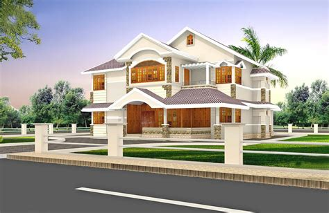 2900 square refined villa design