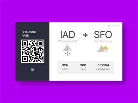 boarding pass boarding pass concept freebbble