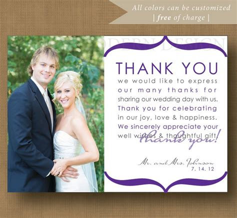 thank you letter after wedding for parents 17 best ideas about wedding thank you on thank