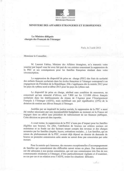 Exemple Lettre Remerciement Ministre Fran 231 Ais D Asie Oc 233 Anie Personnels Des Services Publics 224 L 233 Tranger
