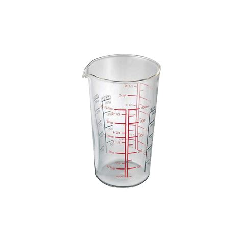 Measure Glass Gelas Ukur Kaca Measuring 1 1 2 Oz 4 Ml hario glass measuring beaker 500ml cmj 500