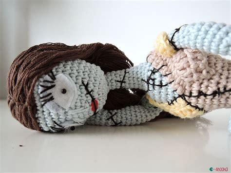 nightmare before christmas zero crochet pattern no halloween without tim burton ahookamigurumi