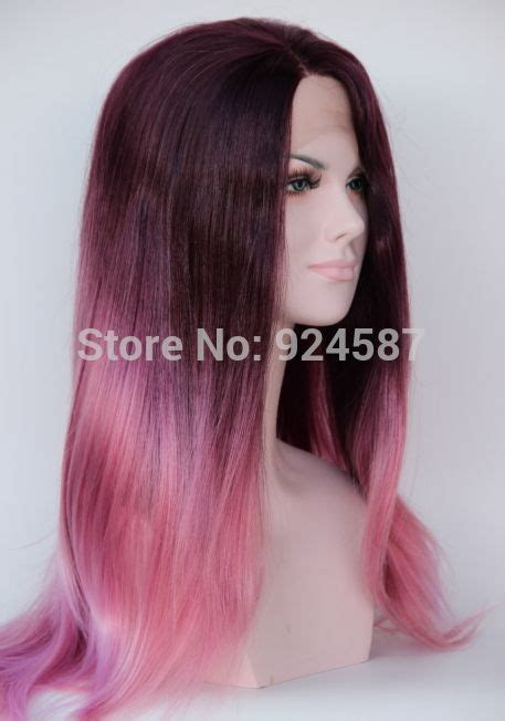 Hair Extension Ombre Gradient Wig Hair Clip Light Purple Pink 184 best pretty hair images on colourful hair hair colors and cabello de colores
