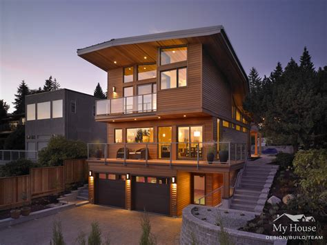 custom homes west vancouver west vancouver modern