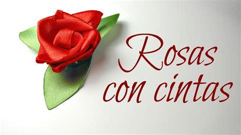 vomo hacer flores en cinta de agua c 243 mo hacer rosas con cintas de raso flores mundo party