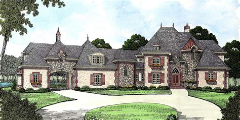 country estate house plans french country estate home plan 9323el 1st floor