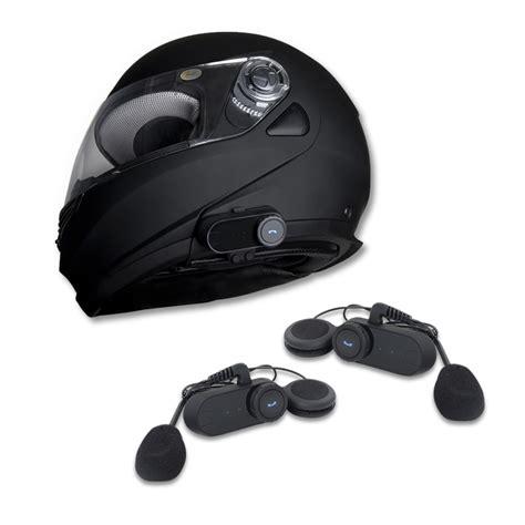 Motorradhelm Mit Lautsprecher by Vianav Motorrad Headset Gegensprechanlage Bluetooth
