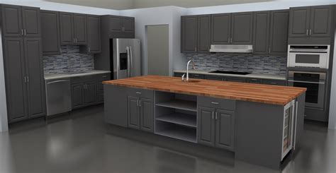 Kitchen Excellent Modern Gray Kitchen Cabinets Ideas Grey Modern Kitchen Cabinets