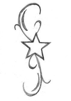 printable star tattoo designs coloring pages line drawings misc on pinterest 330 pins
