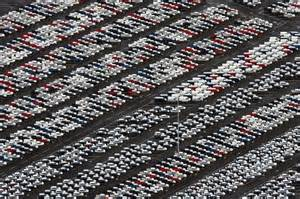 where new cars go to die maps reasons why unsold cars pictures are